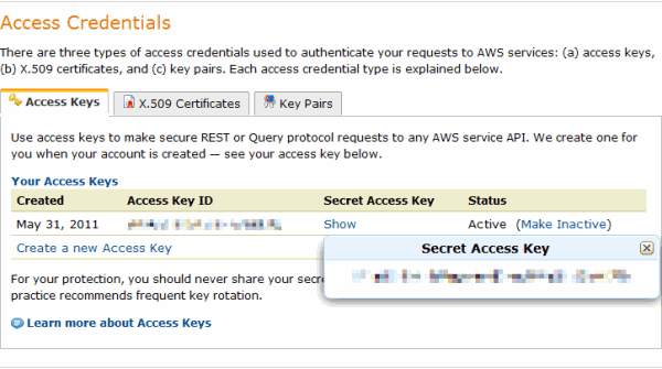 what is security access code on amazon
