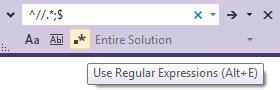 Visual Studio 2012 Search Bar